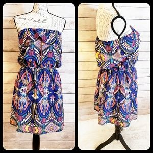 Sleeveless Summer Dress, Bold Beautiful Colors